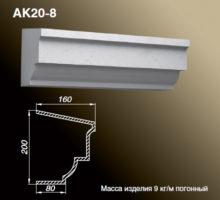 Карниз АК20-8