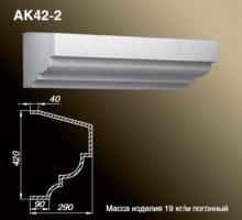 Карниз АК42-2
