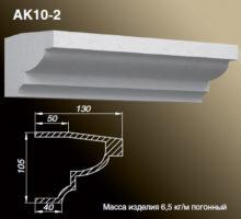 Карниз AK10-2
