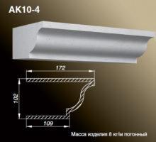 Карниз AK10-4