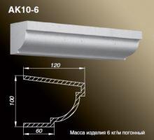 Карниз AK10-6