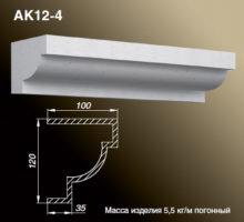 Карниз AK12-4