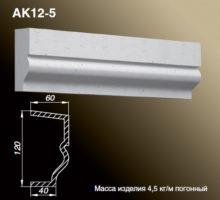 Карниз AK12-5
