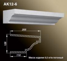 Карниз AK12-6