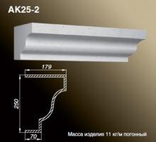 Карниз AK25-2
