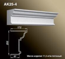 Карниз AK25-4