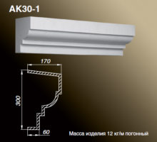 Карниз AK30-1