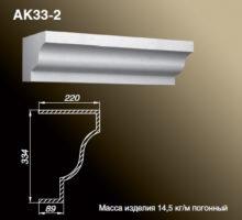 Карниз AK33-2