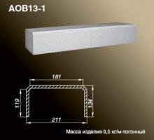 Основание балюстрады AOB13-1