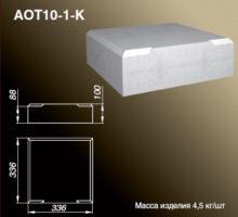 Основание тумбы AOT10-1-K