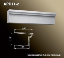 Подоконник APD11-2