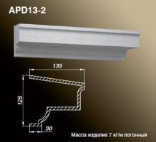 Подоконник APD13-2
