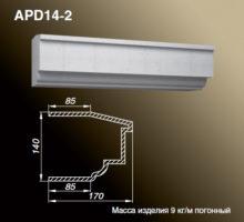 Подоконник APD14-2